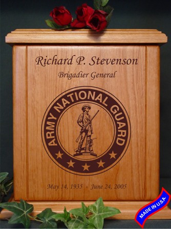 national guard heratage urn