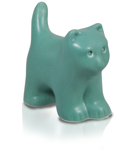 Cat  Figurine Ceramic Cremation Urns