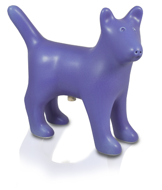 custom color dog urn