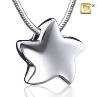 Sterling Silver Angelic Star