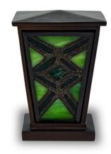 Geen Stained Glass Cremation Keepsake