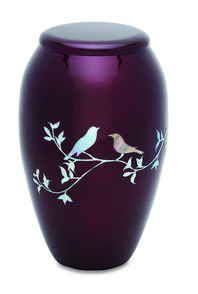 Two Doves Cremation Urn