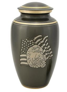 puter USA Flag urn