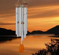 Copper wind chime urn