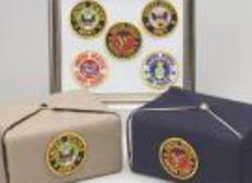 military emblems for silk urns